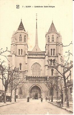 Carte postale - (21) Côte d'Or - CPA - Dijon - Cathédrale Saint-Bénigue