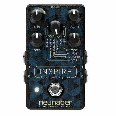 Neunaber Audio Effects Inspire Tri-Chorus Plus Guitar Effects Pedal