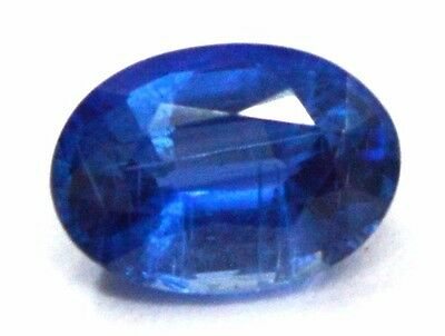 1.05 Ct TOP QUALITY NATURAL BLUE KYANITE 5X7 MM OVAL CUT GEMSTONE FOR JEWELRY