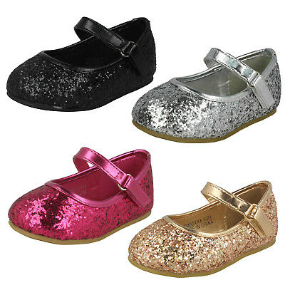 WHOLESALE Girls Glitter Shoes / Sizes 4x10 / 16 Pairs / HW2483
