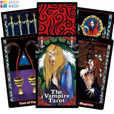 Vampire Tarot Cards Deck Natalie Hertz  Esoteric Telling Us Games Systems New