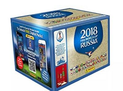Panini Fifa World Cup Russia 2018 Official Album Sticker Packets Football 2018