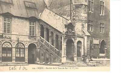 Carte postale - (21) Côte d'Or - CPA - Dijon - Escalier de la Tour de Bar