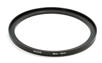 95mm to 105mm Stepping Ring Filter Ring Adapter Step up 95-105