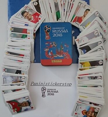 Panini Russia WC18Loose stickers HUGE LIST Pick numbers & qtys 5,10,20,30,40,50