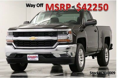Chevrolet Silverado 1500 MSRP$42250 4X4 Z71 LT Camera Havana Single 4WD New Bluetooth 5.3L V8 Regular Reg Cab Metallic 17 2017 18 Mylink Brown
