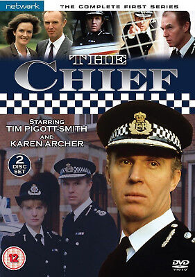 THE CHIEF COMPLETE SERIES 1 DVD First Season Tim Pigott-Smith UK Release New R2