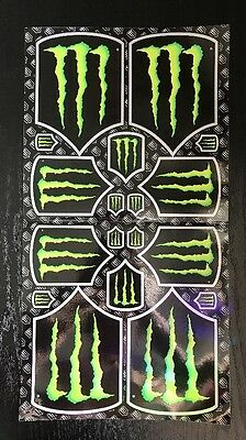 RARE Monster (Energy) Army Sticker Sheets (2 different) EXCLUSIVE TEAM ONLY