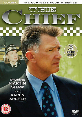 THE CHIEF COMPLETE SERIES 4 DVD Fourth Season Tim Pigott-Smith UK Release New R2