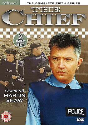 THE CHIEF COMPLETE SERIES 5 DVD Fifth Season Tim Pigott-Smith UK Release New R2