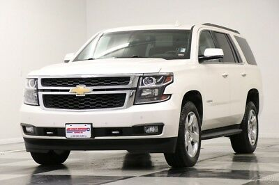 Chevrolet Tahoe LT 4X4  Heated Leather Sunroof  DVD  Navigation Wh 2015 LT 4X4  Heated Leather Sunroof  DVD  Navigation Wh Used 5.3L V8 16V 4WD SUV
