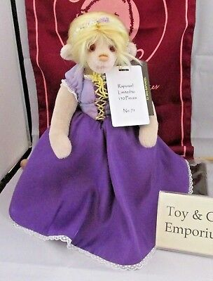 SPECIAL OFFER! 2018 Charlie Bears Mohair RAPUNZEL No 71/150 RRP £245