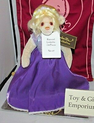 SPECIAL OFFER! 2018 Charlie Bears Mohair RAPUNZEL No 69/150 RRP £245