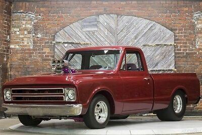 Chevrolet C-10 Pro Street 71 Pro Street Supercharged 454 V8 NOS Auto Custom Pickup Show Drag Truck Red