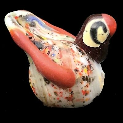 Very Rare Phoenician Glass Bird Bead 300Bc Super Quality (Very Large Size) (5)