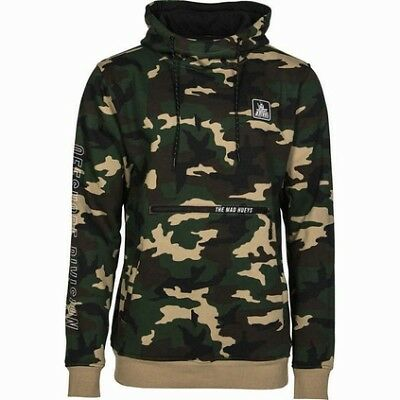 The Mad Hueys Pullover Hoodie - Mens, Camo, 2XL