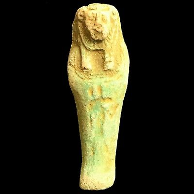 Ancient Egyptian Sekhmet Amulet Late Period 664 - 332 Bc (1)