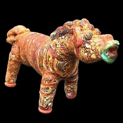 Ultra Rare Phoenician Animal Statuette 300Bc Super Quality (Very Large Size) (2)