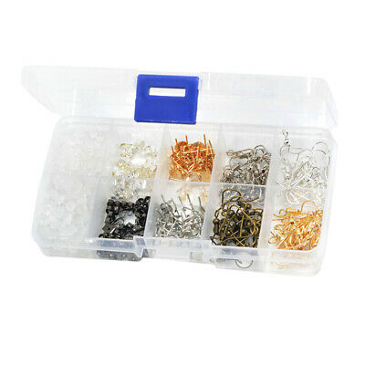 DIY Earring Making Supplies Kit Earring Hooks, Earring Backs, Earrings Posts