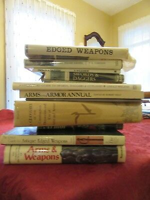 Lot of 12 Sword Collecting Books - Arms and Armor - Antiques F. Wilkinson