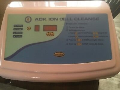 AOK Ion Cell Cleanse Detox Foot Spa.