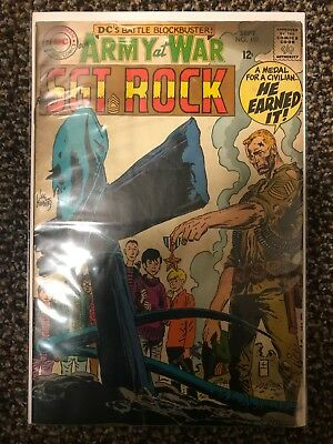 Our Army at War #197 (Sep 1968, DC) Comic Featuring Sgt Rock Grade 4.0