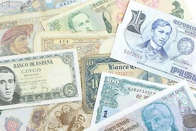 (DO360B) Lot of 14 Foreign Banknotes