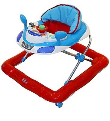 Bebe Style Baby Walker (Deluxe) Musical Electronic Activity Tray Car Theme Mums