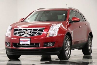 Cadillac SRX AWD Performance Sunroof GPS Leather Crystal Red SUV Like New Heated Seats Camera Bluetooth CUE 3.6L V6 Remote Start 16 17 2016 15