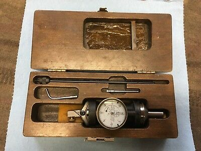 "Blake Co-ax Indicator 0.0005"" Centering Milling Machine Made in USA with case"