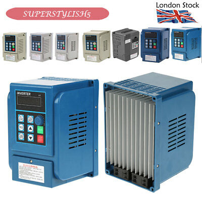 220-380V Variable Frequency Drive Inverter CNC VFD Single-Three Phase 0.45-2.2KW