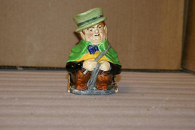 Burleigh Ware Burgess and Leigh Character Toby Jug Tony Weller 5in Tall