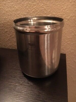 Qty 2 -   Server p/n 94009 Stainless Steel Jar 3 quart for FSPW-SS