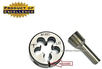 Lighthouse Tools® - Adjustable die M14X1 LH + Thread alignment tool 7.62 cal
