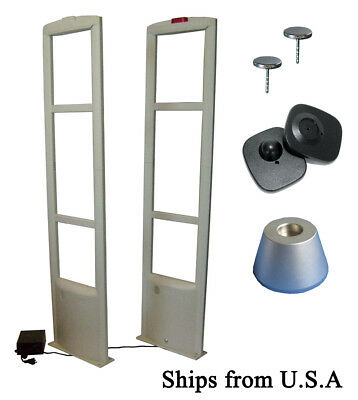 8.2MHz EAS Checkpoint Compatible Store Security System with TAG/Pin & Work Tool