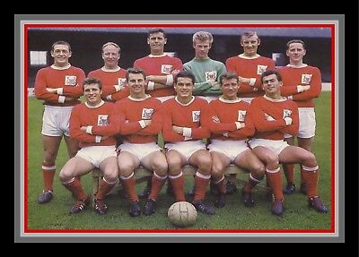 Collectors/Photograph/Print/7 x 5 Photo/Nottingham Forest  c1963 Team Photo