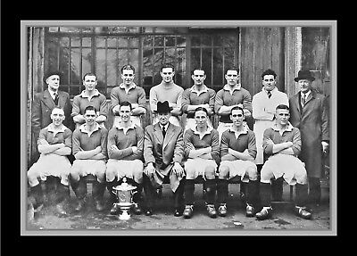 Collectors/Photograph/Print/7 x 5 Photo/Chelsea Football League War Cup 1944/45