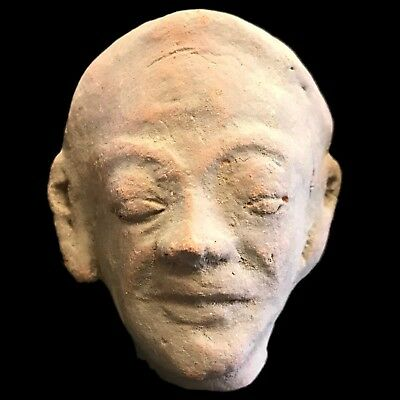 Rare Ancient Indus Valley Terracotta Bust From The Harappa Culture 1200 Bc (5)