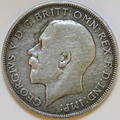 Great Britain 1914 One Florin - K1