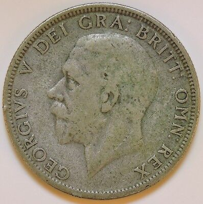 Great Britain 1929 One Florin - K9