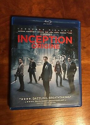 INCEPTION: Blu-Ray Movie