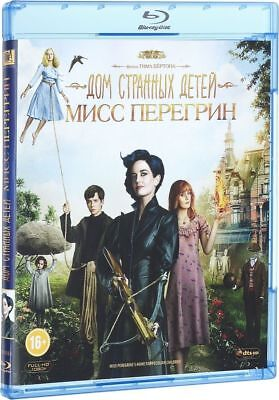 Miss Peregrines Home For Peculiar Children (Blu-ray, 2016) Eng,Rus,Fre,Por,Spa