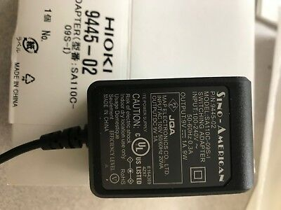 Hioki 9445-02/4 AC Adapter for Flex Probe with Quad Output