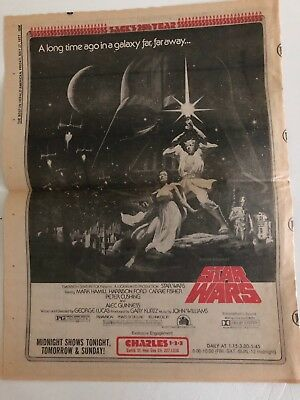 Boston Herald American May 27, 1977 Star Wars article