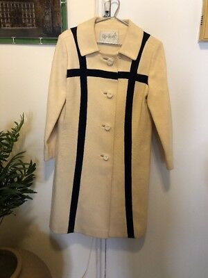 Vintage (1960s?) Voyager West Youthcraft Coat Beige Color USA Union Label