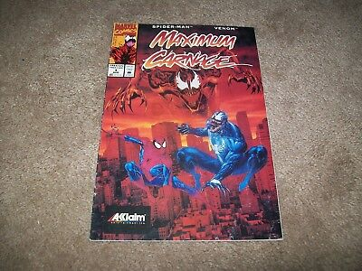 Maximum Carnage 1 Rare Video Game Giveaway Variant Venom Spider-Man Movie