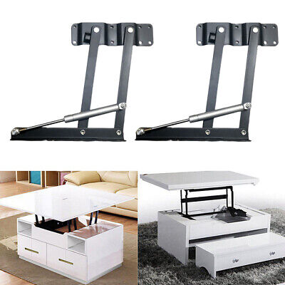Lift Up Top Coffee Table DIY Hardware Fitting Suppor Frame Furniture Hinge