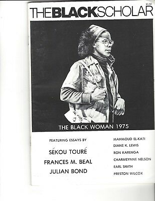 The Black Scholar, March 1975, Vol 6 No. 6, The Black Woman 1975