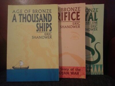 Age of Bronze collected editions, volumes 1-3 by Eric Shanower
