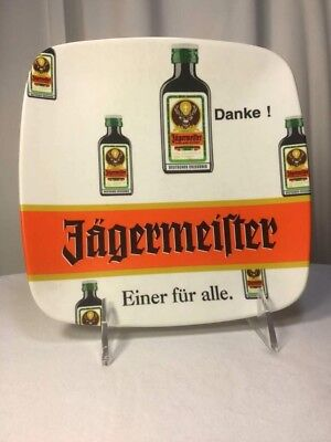 Vintage German Jagermeister Coin Cash Tray (Zahlteller) Collectible Bar Ware
